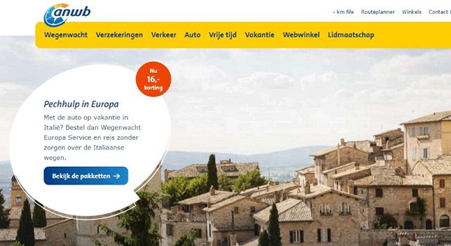 personalisatie - voorbeeld ANWB hogere click rate banner