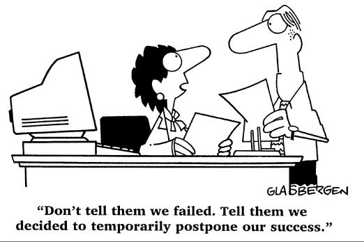 succes-is-uitstel